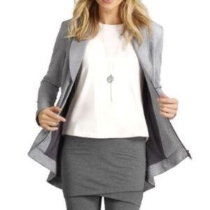 NWT Cabi 5300 Womens Drop Off Jacket Large Gray